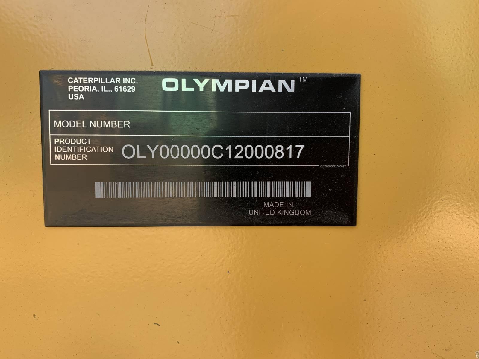 OLYMPIAN 200 KVA DIESEL GENERATOR