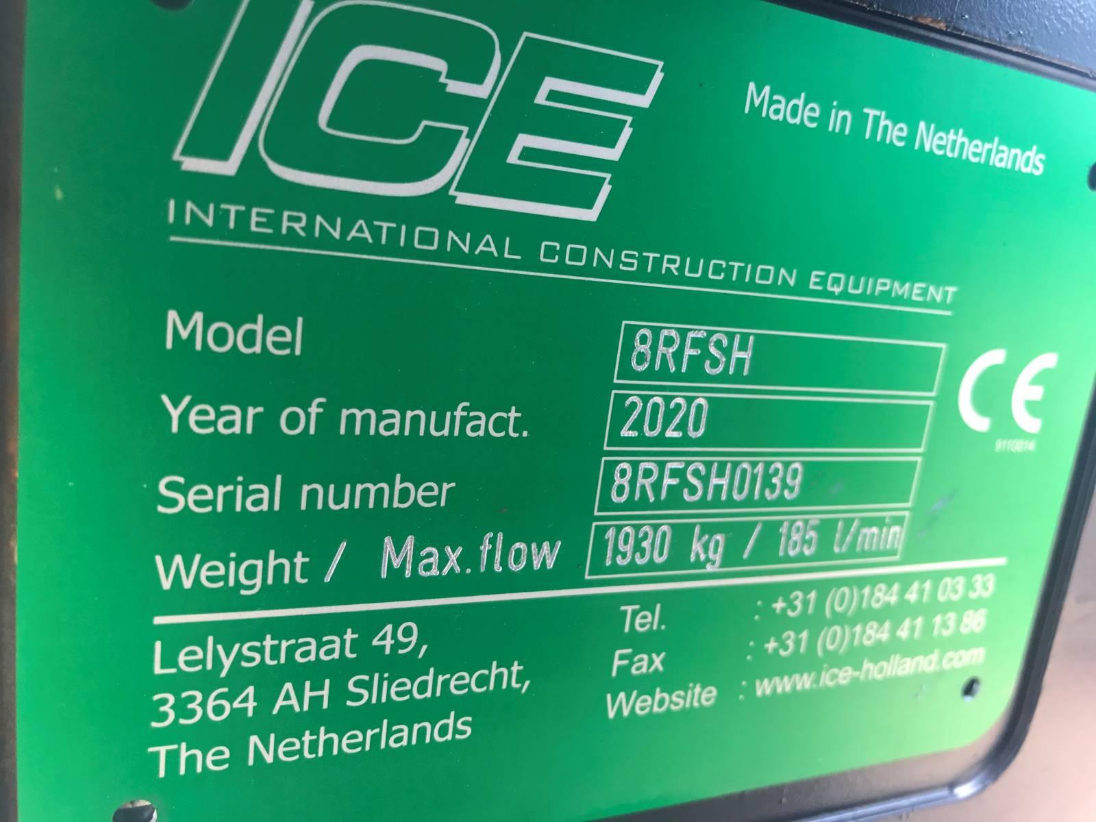 NEW ICE 8RFSH VIBRATORY HAMMER